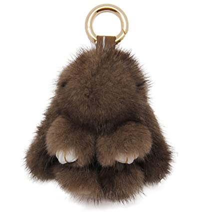 YISEVEN Easter Eggs Stuffed Rabbit Keychain Toy- Soft and Fuzzy Mini Plush  Bunny Key Chain 373fc73ab821