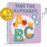 Cali's Books Sing The Alphabet - Press, Listen and Sing Along! Sound Book - Best Interactive and Educational Gift for Baby, Toddler, 1 Year Old Girl and Boy