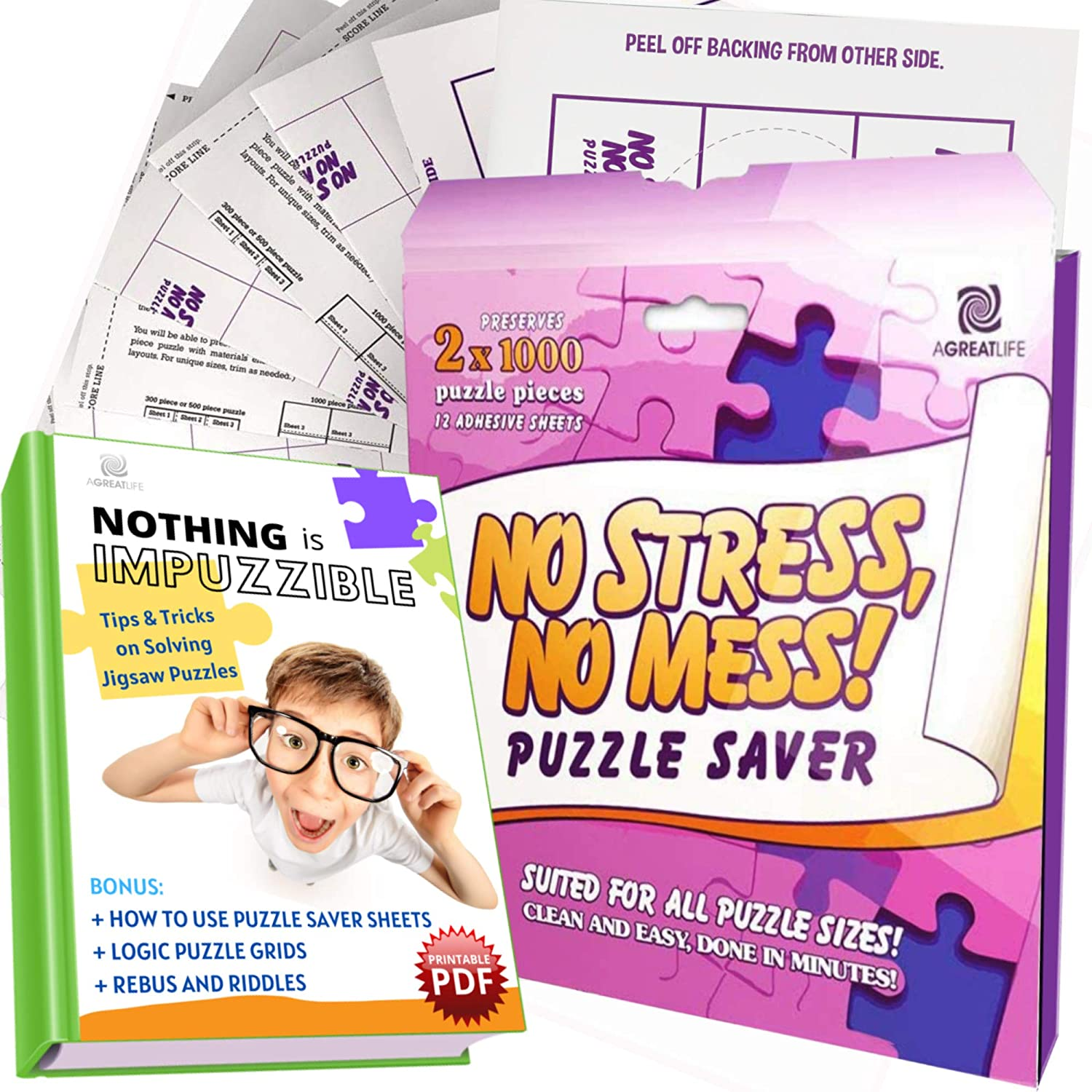 aGreatLife Puzzle Saver 14 sheets