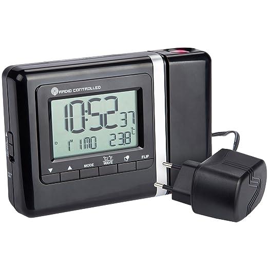 Ultranatura UN 200 - Reloj proyector digital controlado por radio ...