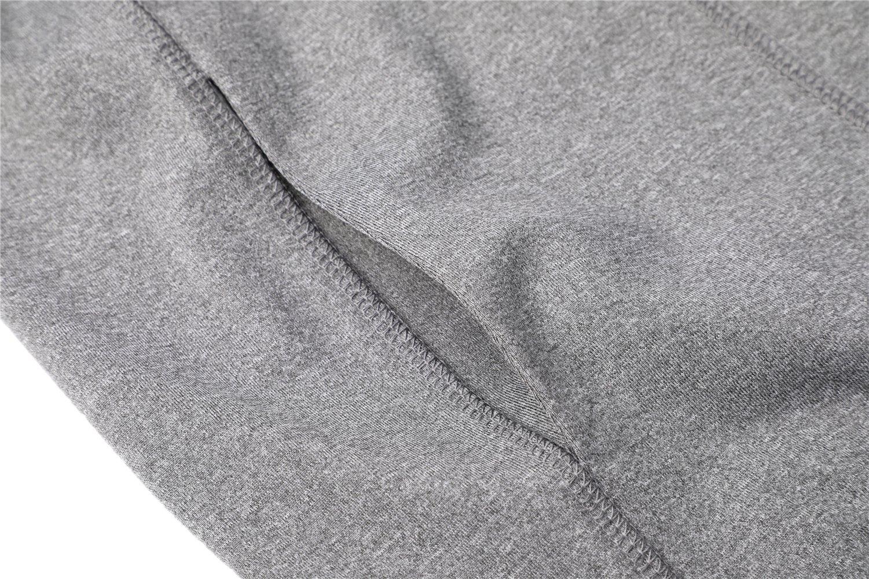 Dolcevida Women's Full Zip Long Sleeves Running Activewear Yoga Track Jackets (Grey, M) by Dolcevida (Image #8)