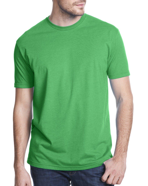 Next Level Apparel メンズ CVC クルーネック ジャージ Tシャツ B014WDCUNK 3L|ケリーグリーン ケリーグリーン 3L