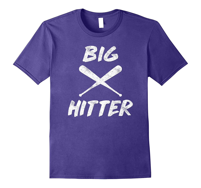 Big Hitter Softball Baseball Homerun T Shirt