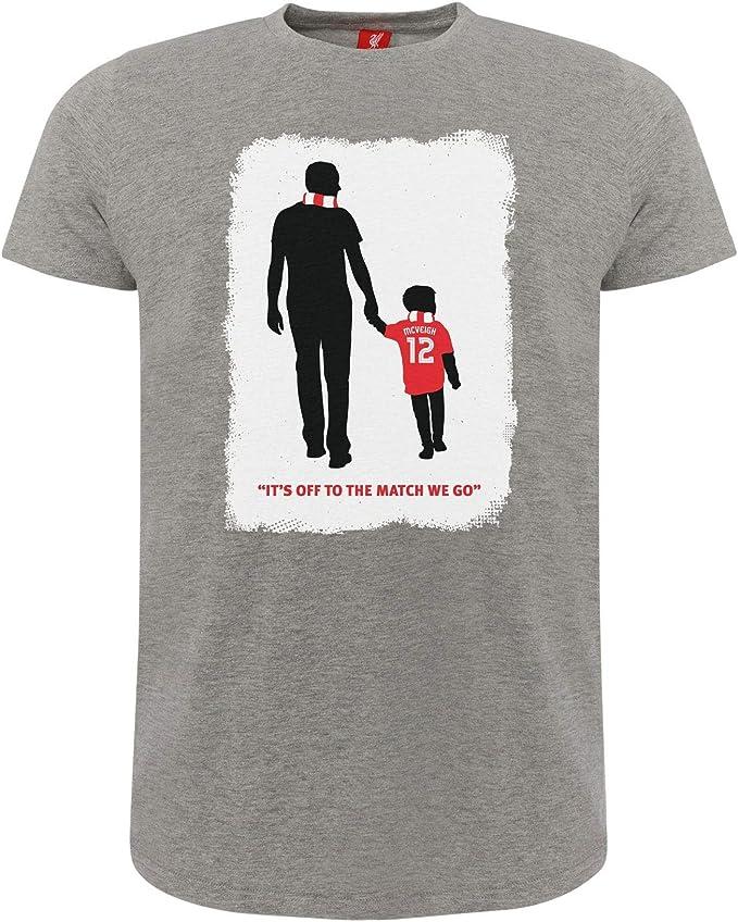 Liverpool FC Camiseta Adultos Gris Fundacion Owen McVeigh LFC ...