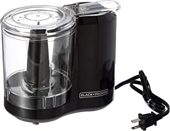 BLACK+DECKER 3-Cup Improved Assembly Electric Food Chopper