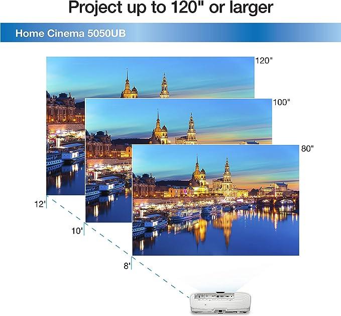 Epson Home Cinema 5050UB 4K Pro-UHD Proyector de 3 Chips con HDR ...