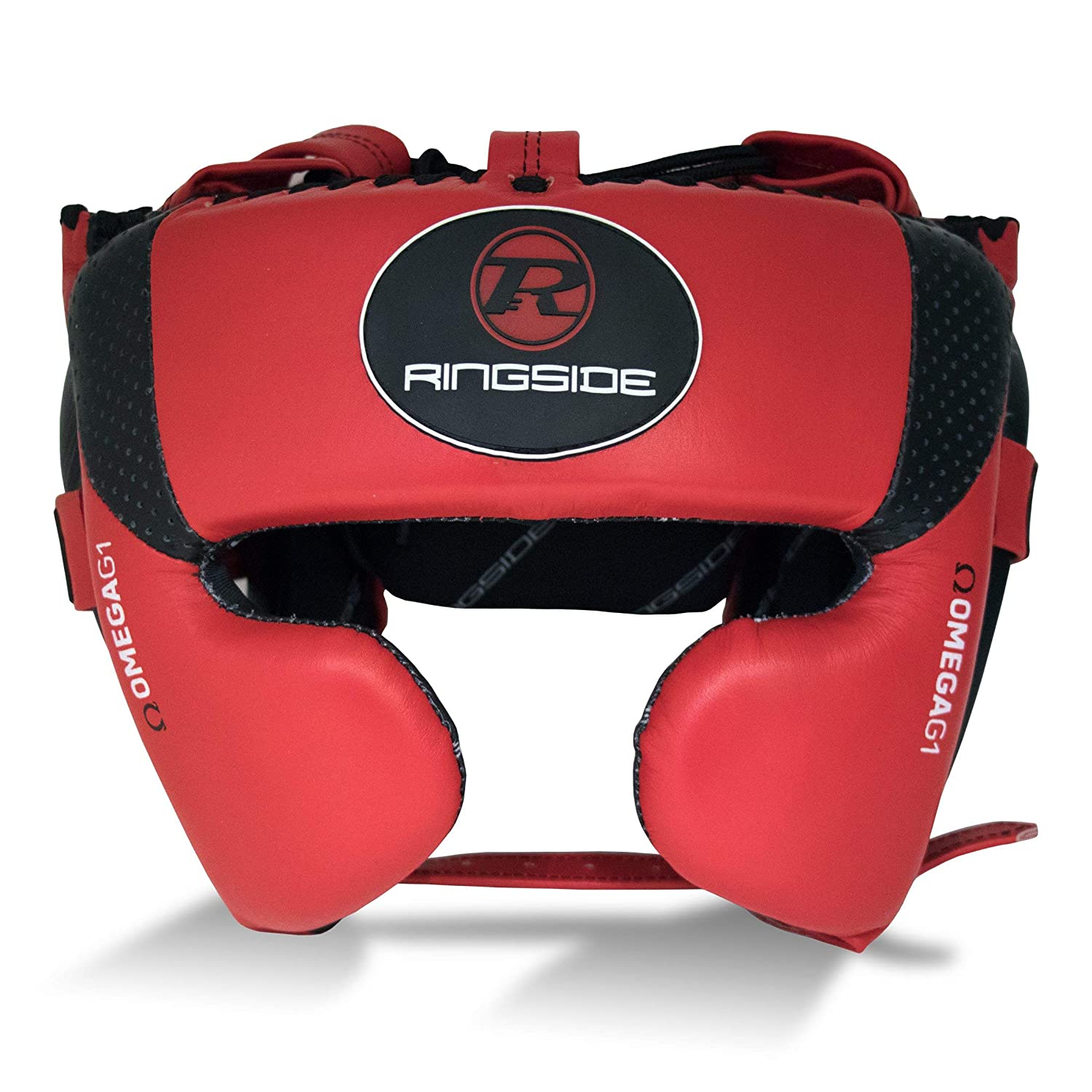 Ringside Boxing Omega G1 Ultra Pro Spar Head Guard Fiery Red / Black
