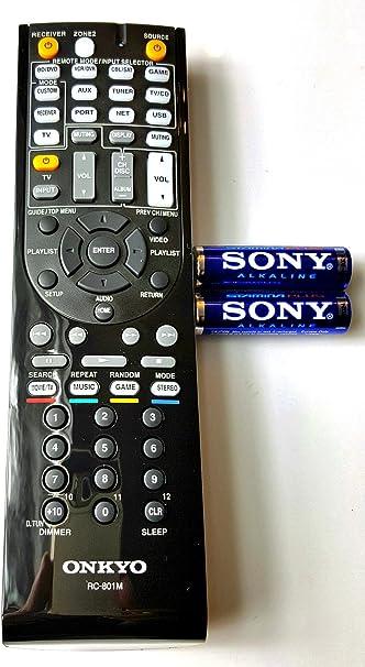 Onkyo A V Receiver Fernbedienung Rc 801 M 24140801 Audio Hifi