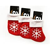 Amazon.co.uk Gift Cards - 3-Pack Christmas Stockings - FREE One-Day Delivery
