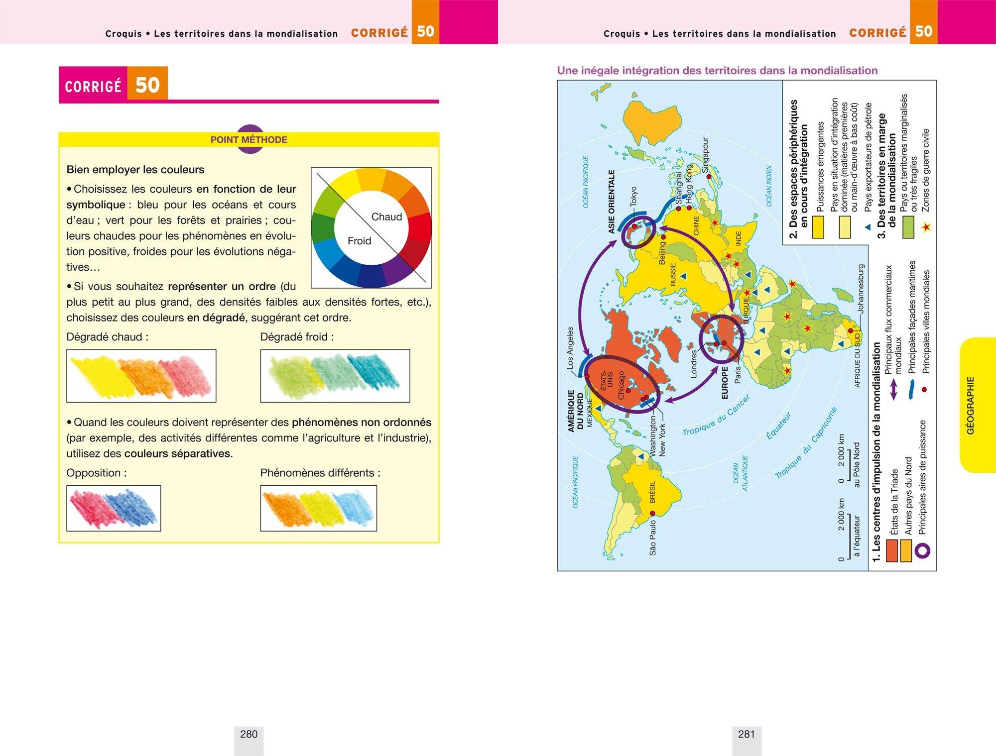 Annales Annabac 2018 Histoire-Géographie Tle L, ES: sujets et corrigés du bac Terminale L, ES: 9782401030404: Amazon.com: Books
