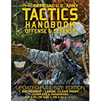 """The Official US Army Tactics Handbook: Offense and Defense: Updated Current Edition: Full-Size Format - Giant 8.5"""" x 11…"""