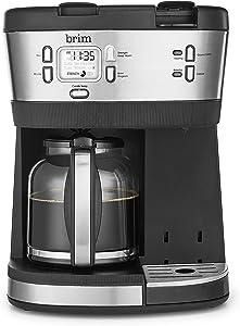 brim Single-Serve K-Cup and Full Pot Multi-Brew Coffee Maker