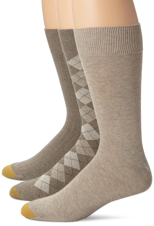 Gold Toe Men's Classic Dress Socks (Pack of Three Pairs) Gold Toe Men' s Socks 2937s