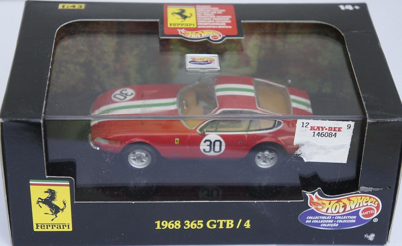 Hot Wheels 1968 Ferrari 365 GTB / 4 1:43 1:43 1:43 Scale Diecast Replica eda365