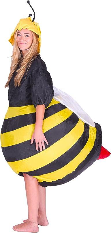 Bodysocks® Disfraz Hinchable de Abeja Adulto