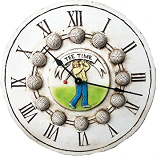 product image for Piazza Pisano Golf Decor Wall Clock Tee Time