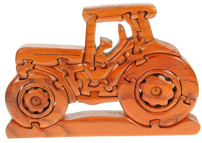 Rompecabezas 3D De Madera Clasico MotorBici: diversión para la Mente: Madera Artesanal Navidad Idea de Regalo! Gran Bici Hombres, WoHombres Bicirs y ...