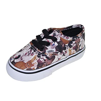 e92a23d73b Vans Unisex Shoes - ASPCA Authentic Cat (11 Little Kid M)