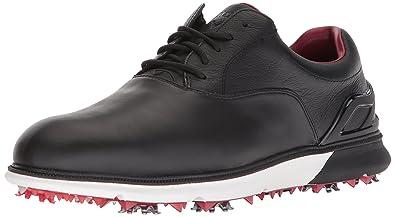 62d6575c69402 Callaway Men's LaGrange Golf Shoe, Black/White/red, ...
