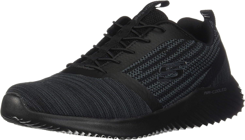 Skechers mens 52504 Bounder Black Size