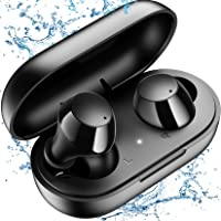 Bluetooth Earbuds,kurdene Wireless Earbuds with Wireless Charging case,Touch Control in… photo