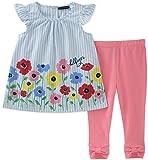 Tommy Hilfiger Baby Girls Leggings Set, Blue