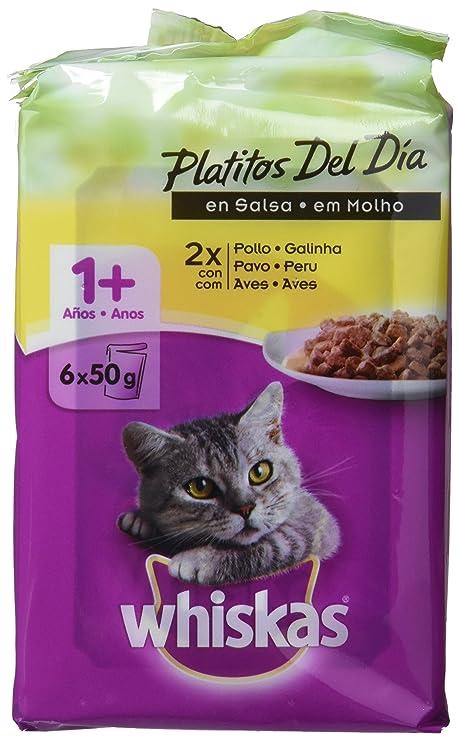 Bolsitas para Gatos Platitos Del Día Carne Blanca En Salsa - [Pack de 12]