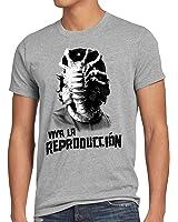 style3 Viva Facehugger T-Shirt Herren guevara revolution che kuba xenomorph