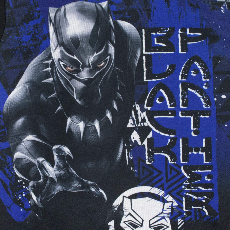 Marvel Pigiama a Maniche Lunghe per Ragazzi Black Panther