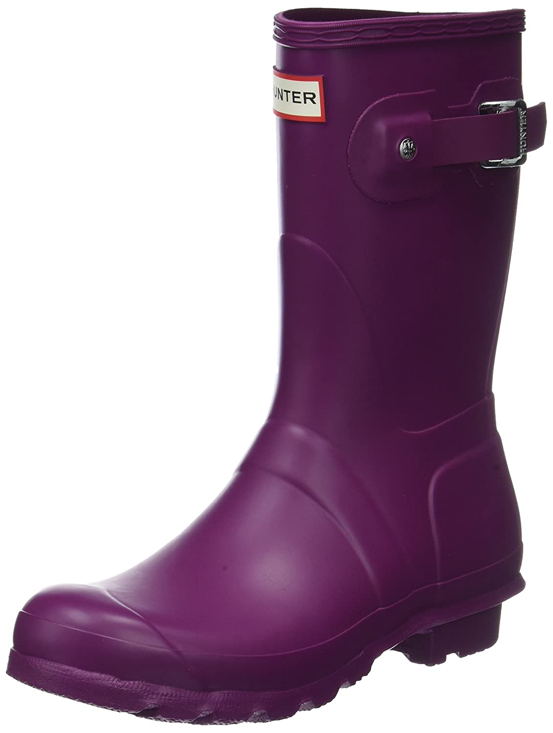 Hunter Damen Women Original Short Gummistiefel, Violett (Violet Rvi), 42 EU