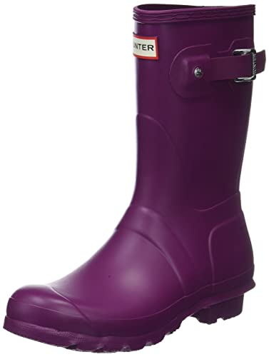 Hunter Damen High Wellington Boots Gummistiefel, Violett (Purple Rvi), 39 EU