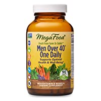 MegaFood, Men Over 40 One Daily, Daily Multivitamin and Mineral Dietary Supplement...