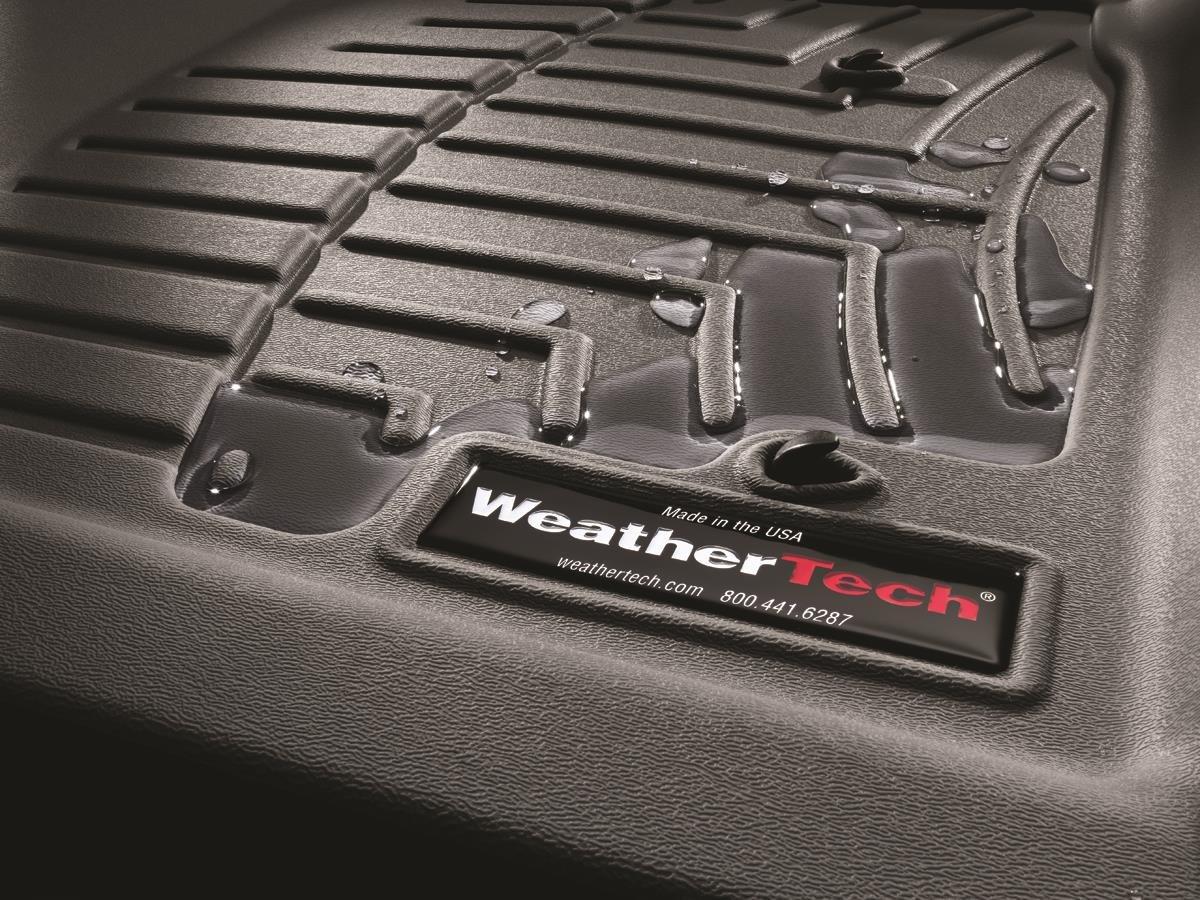 WeatherTech Custom Fit Rear FloorLiner for Ford Focus Black 441902