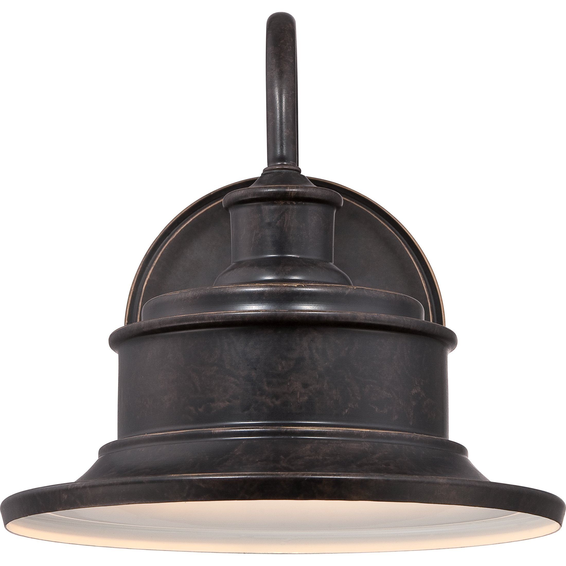 Quoizel SFD8411IB One Light Outdoor Wall Tabletop Lanterns Large Imperial Bronze by Quoizel (Image #3)