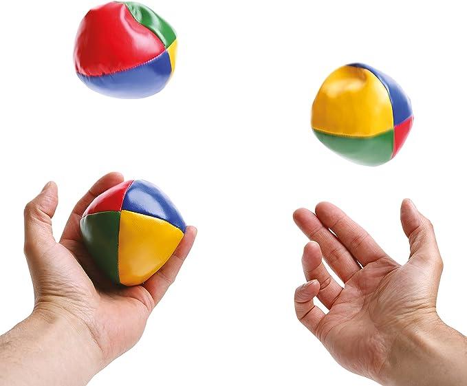 Global Gizmos Pelotas Malabares (Juego de 3): Amazon.es: Juguetes ...