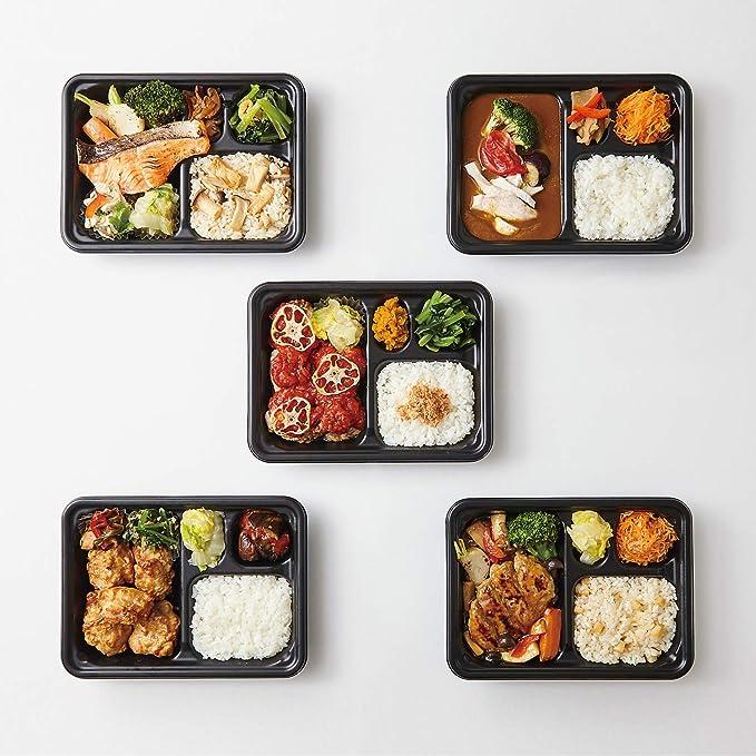 ミシュラン三つ星シェフが作る 冷凍弁当【5食セット】 糖質制限 糖質オフ 低カロリー お弁当 冷凍食品 おいしいプラス