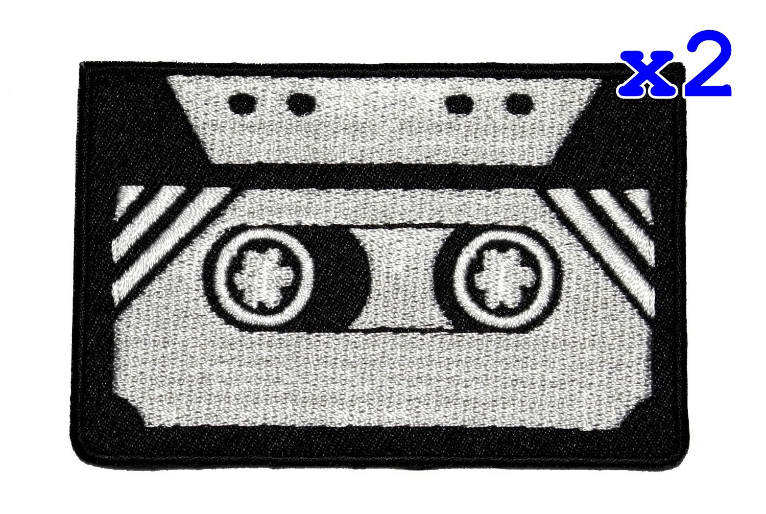 Tape Cassette Retro DIY Applique Embroidered Sew Iron on Patch TCS-01 PA International Trading Co. Ltd 4337021916