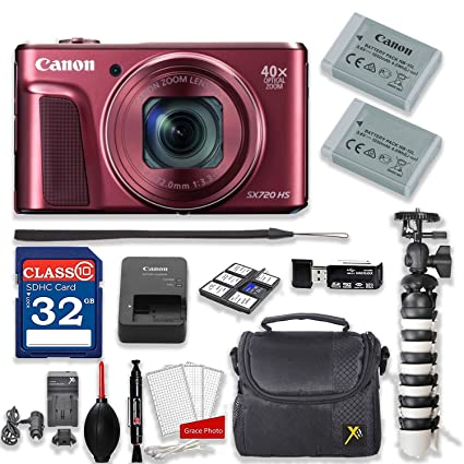 Amazon.com: Canon PowerShot sx720 HS 20,3 MP Zoom óptico de ...