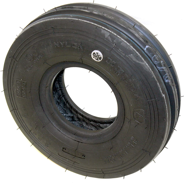 Martin Wheel Kenda 3.00-4 3 Rib Farm/Ag Style Tread Tire: DOT Approved 4 Ply, Tubeless, 48 PSI Max Inflation Tire (2)