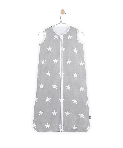 Jollein – 049 – 516 – 64966 – Saco de dormir bolsas (gris, color