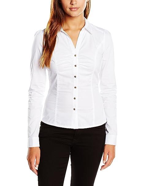 N - Camisa para Mujer, Color Blanc, Talla 36