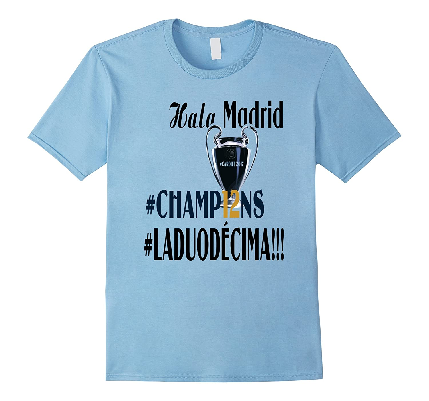 #LADUODECIMA 2017 #HALA MADRID T-shirt-TH
