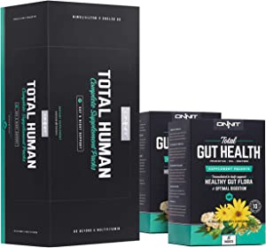 ONNIT Total Human + Total Gut Health Stack