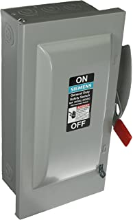 SIEMENS GNF322 60 Amp, 3 Pole, 240-Volt, 3 Wire, Non-Fused, General ...