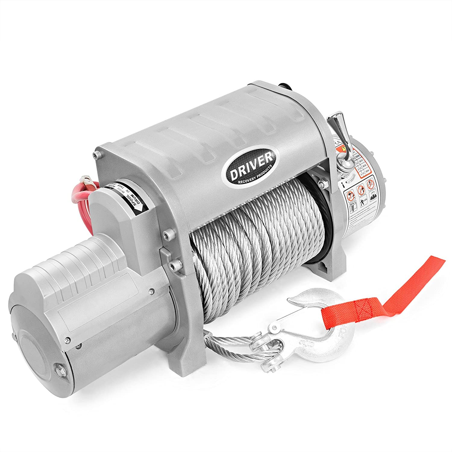 Ld12 Elite Electric Heavy Duty Recovery Winch 12000 Superwinch Solenoid Wiring Diagram 4000 Lbs Capacity Wireless Remote Control By Driver Products Automotive