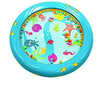 Lovely Bead Gift Early Learning Ocean Wave Toys Drum Musical Instrument Sea For Baby Kid Orff Instruments Tambourine