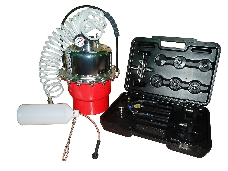 Slpro® Purgeur de frein à air comprimé Kit purgeur Appareil freins 5 l KFZTEILESCHNELLVERSAND24