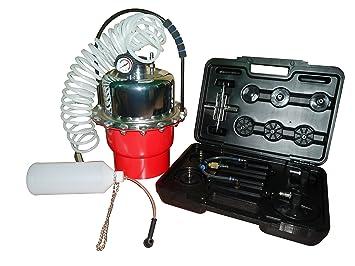 SLPRO® Dispositivo de purgado de frenos de 5 l, aire comprimido: Amazon.es: Coche y moto