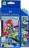 Faber-Castell 114484 Zeichenset Art Grip Aquarelle Anime Art Fantasy