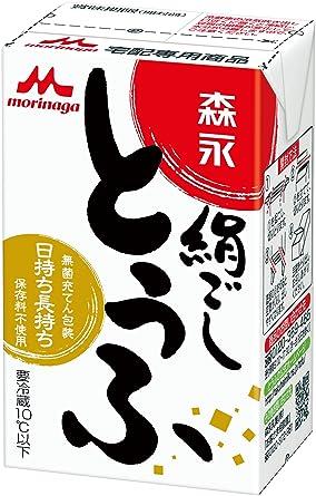 Amazon | 「森永の絹ごし豆腐」4...